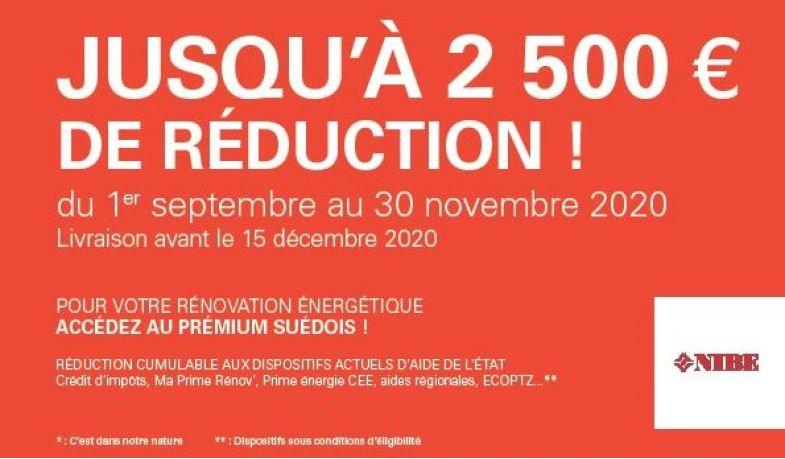 OPERATION NIBE du 1/9 au 30/11/20