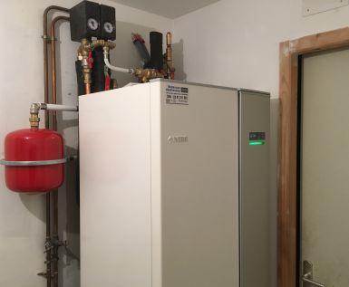 Géothermie horizontale rénovation