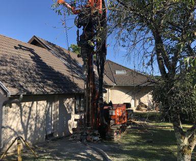 Géothermie verticale en rénovation