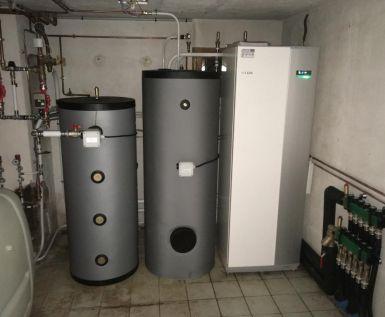 Chantier Géothermie verticale - CINQUETRAL